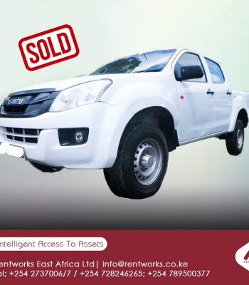 Isuzu Dmax sold